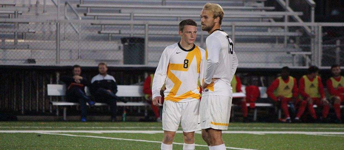 Late Goal In Second Overtime Lifts Tiffin Over Men's Soccer, 4-3 (2OT)