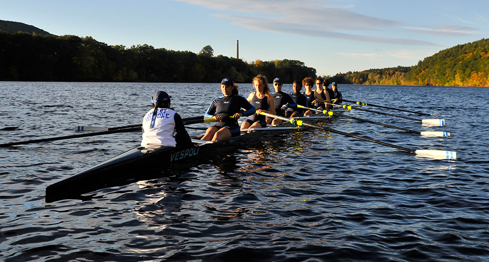 Celebrating 40 Years of Rowing at Mount Holyoke College