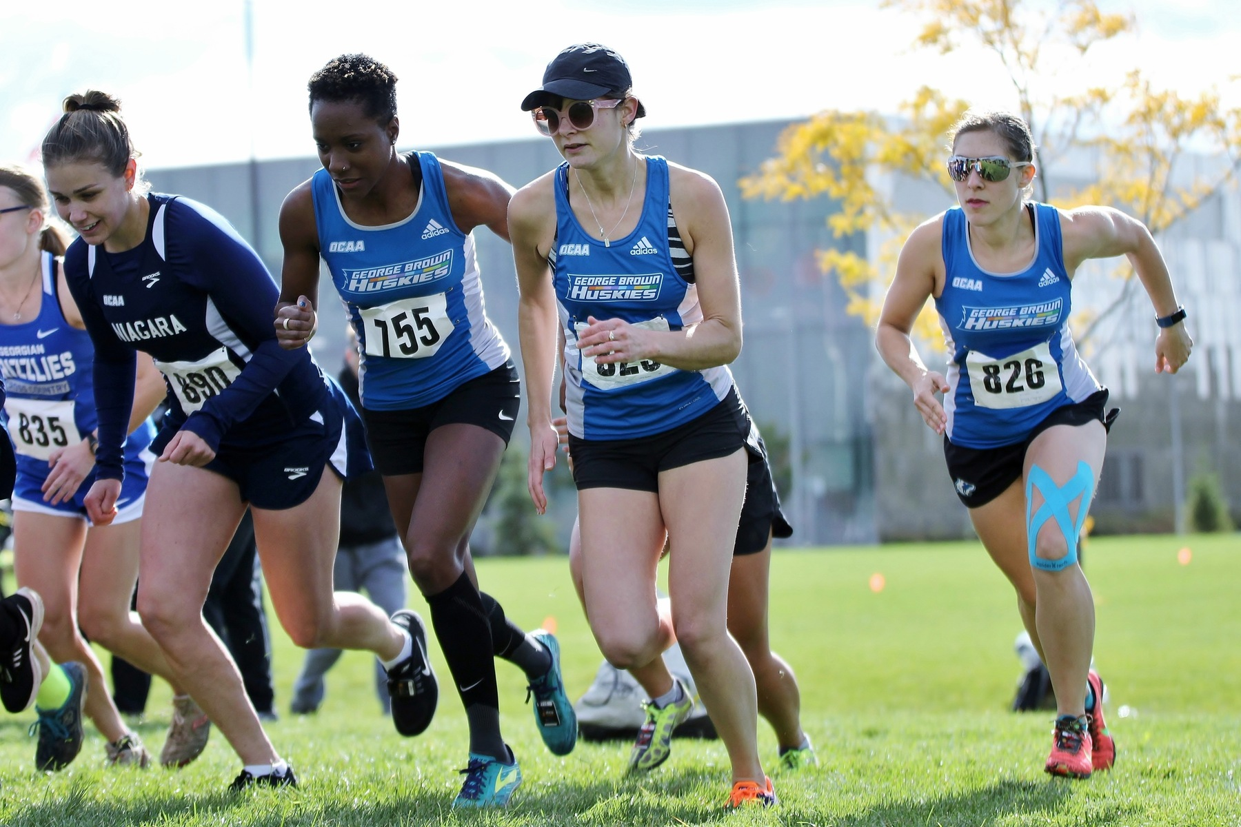 STRONG FINISH FOR HUSKIES CROSS COUNTRY IN FINAL TUNE-UP BEFORE OCAA CHAMPIONSHIPS