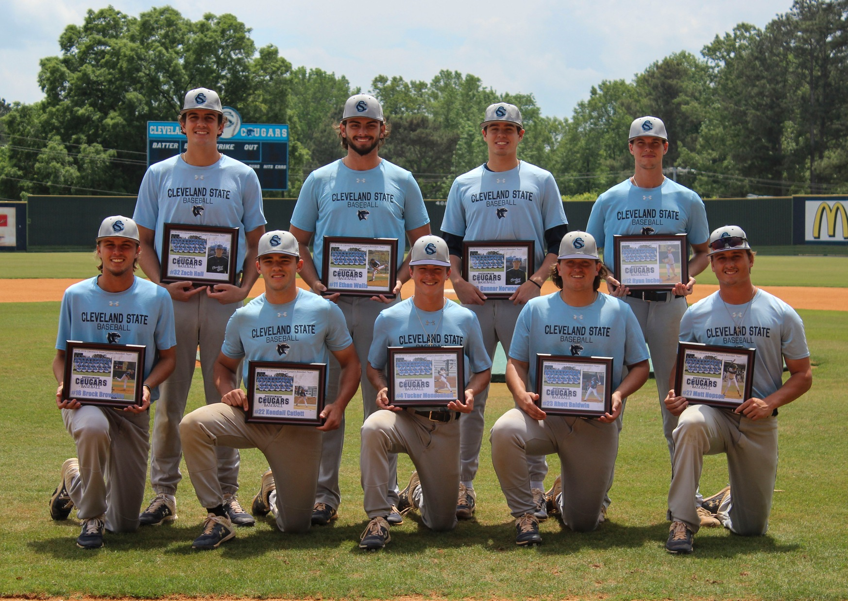Baseball Honors Sophomores Wednesday
