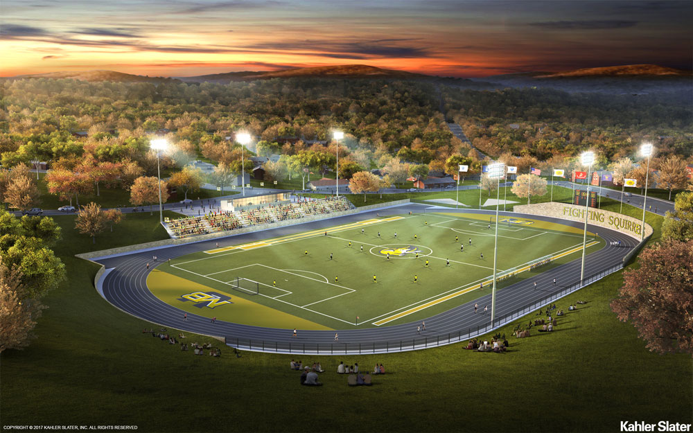 MBU soccer field conceptual vision