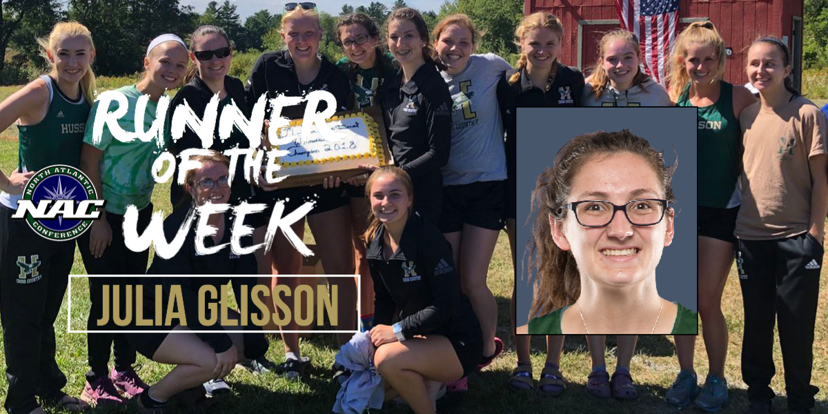 Glisson Achieves NAC Runner of the Week