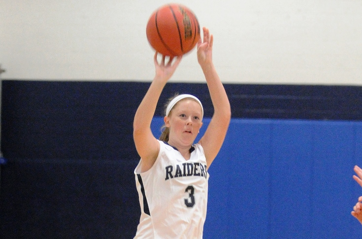 Women's Basketball: Raiders upended at home by JWU