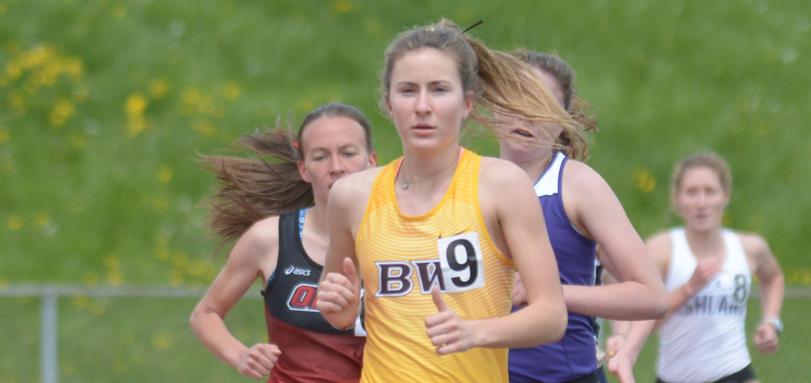 Sophomore All-OAC distance runner Bella Pendola