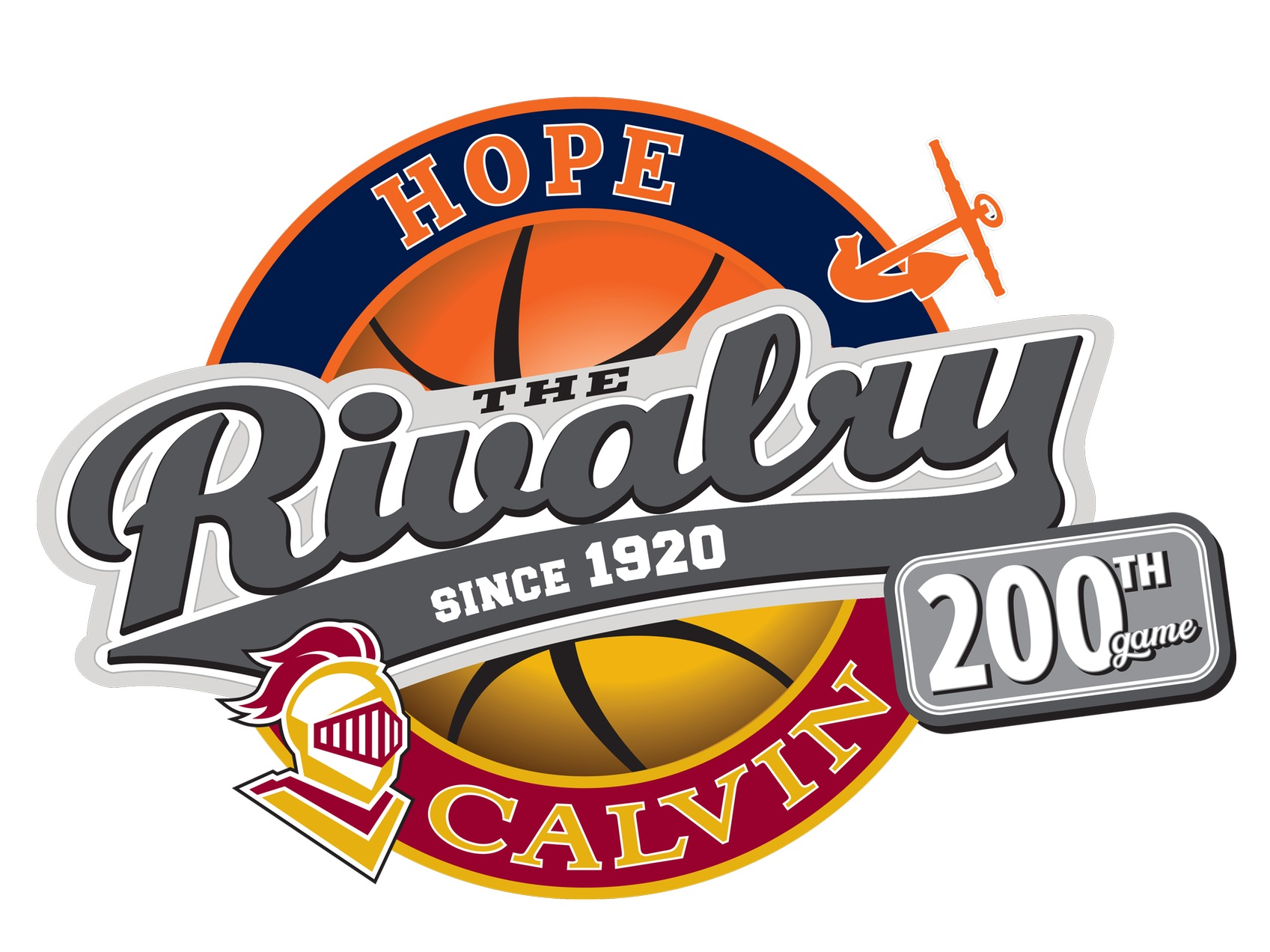 Hope Calvin Rivalry logo
