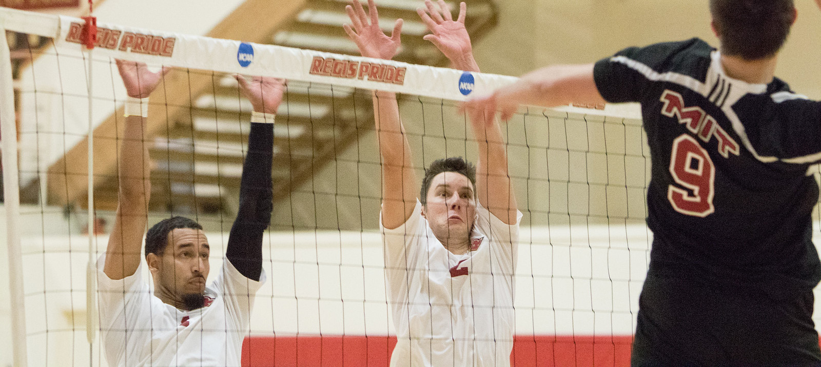 Men's Volleyball Dominant In Sweep of Purchase
