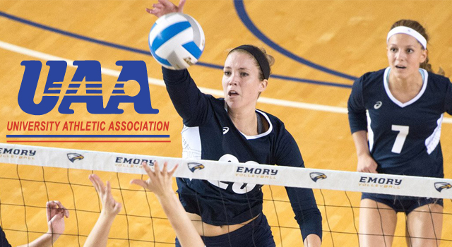 UAA Announces All-Association Volleyball Team; Jessica Holler of Emory Named Most Valuable Player