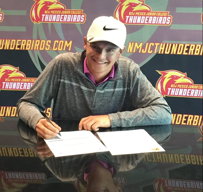 TYLER COX SIGNS WITH THUNDERBIRDS