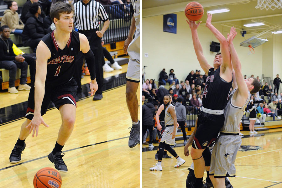 Will Leckonby '21 (left), Carson Long '19 (right) (Andy Gore photos)