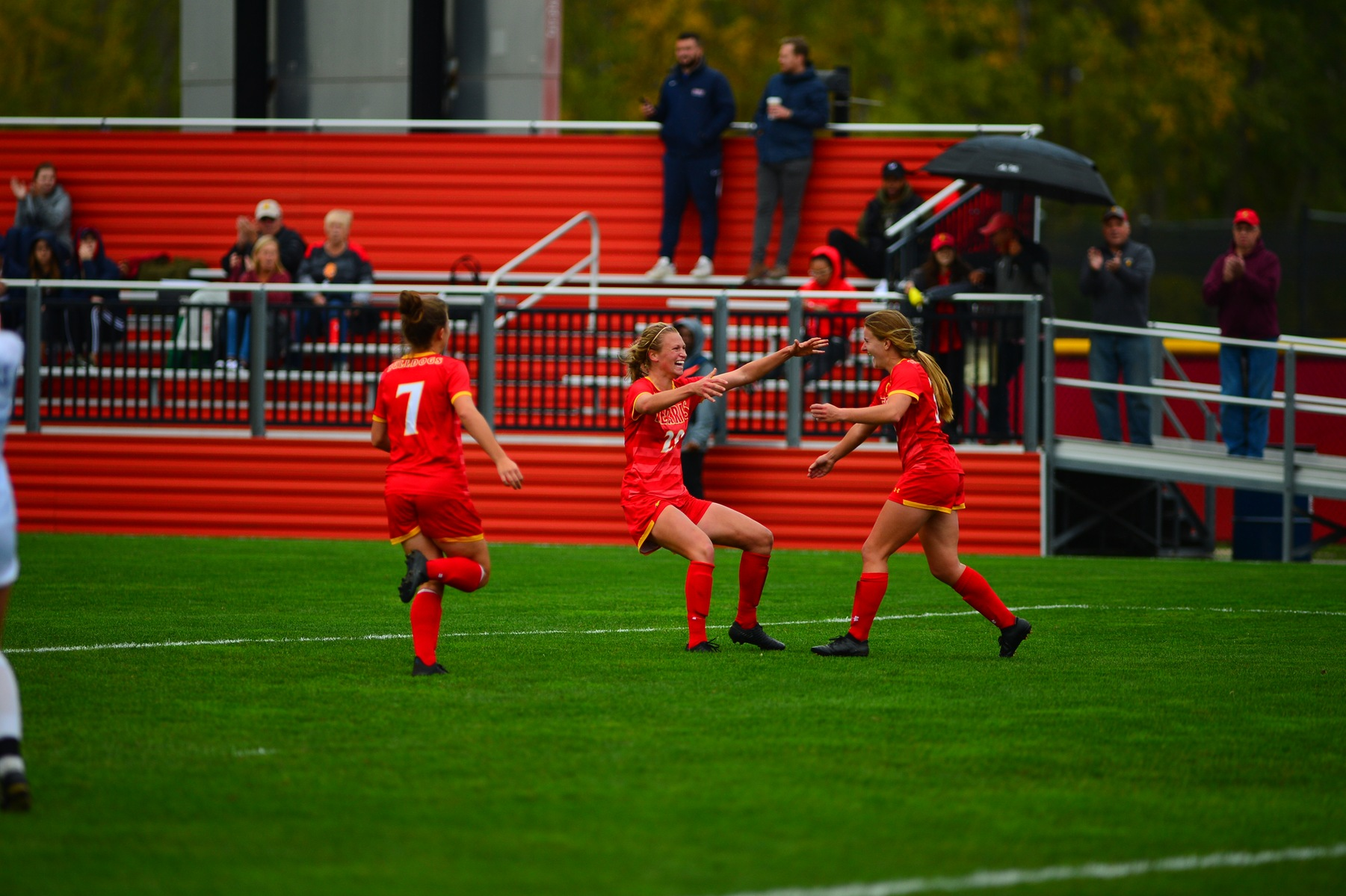 Bulldogs Shutout Cardinals To Stay Undefeated In GLIAC Play