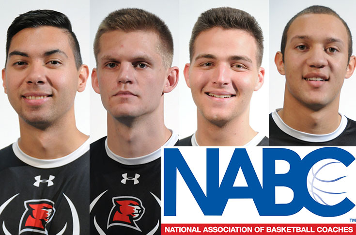 Men's Basketball: Panthers have four earn NABC Honors Court