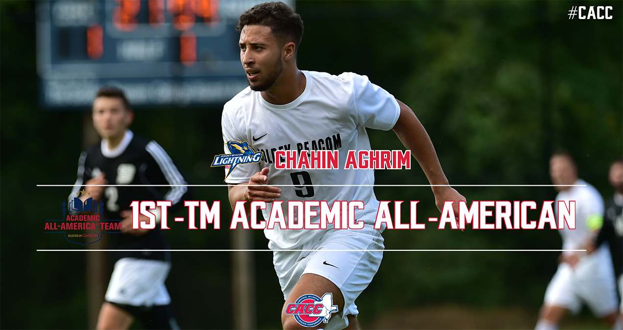 Chahin Aghrim Named CoSIDA 1st-Tm Academic All-American; 2 Other Lightning Earn 3rd-Tm Honors