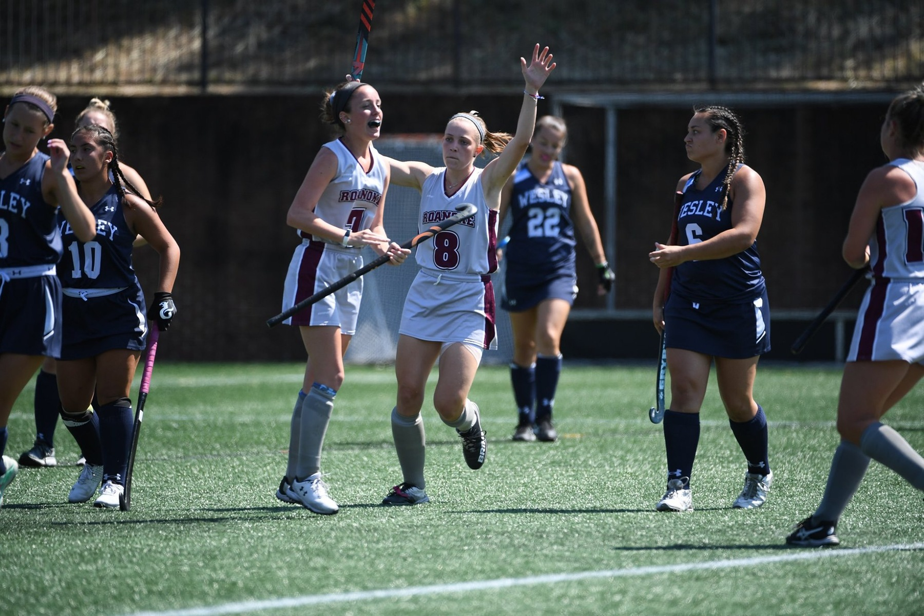 Martha Hurley had a pair of goals in a win over Sewanee