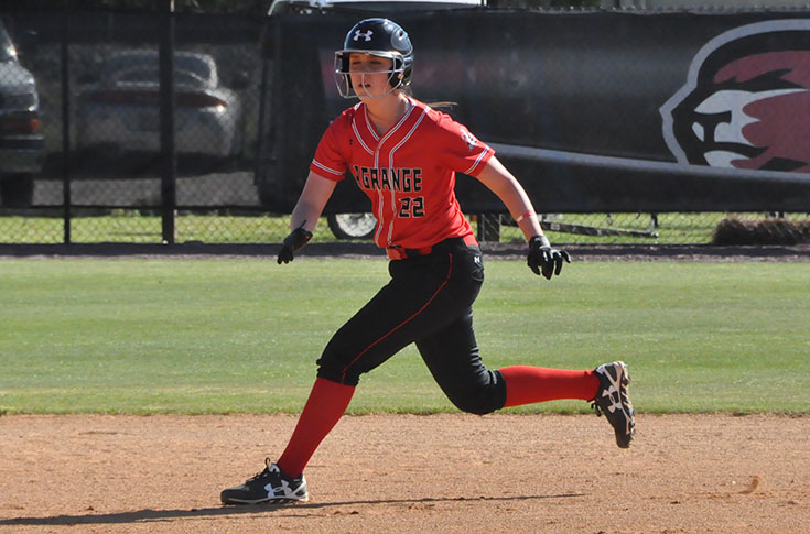 Softball: Panthers split USA South doubleheader at Greensboro
