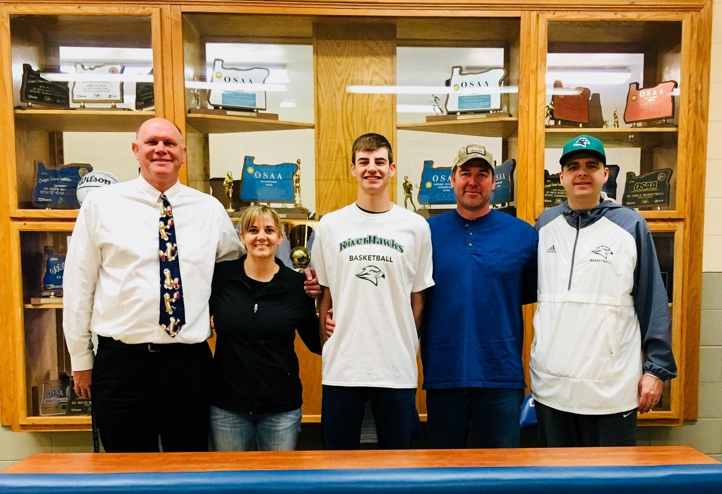 Local All-State Player Signs with RiverHawk Men's Basketball
