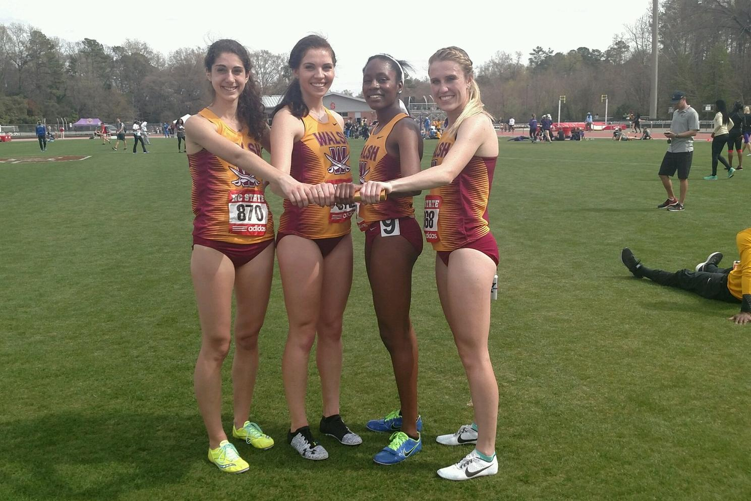 4x800 Shatters Record at Raleigh, Cavs Win At Muskingum