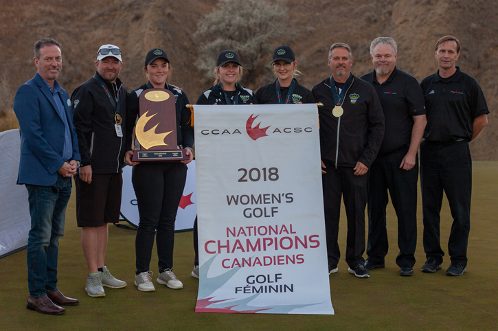 Red Deer, André-Laurendeau named 2018 CCAA Golf National Champions