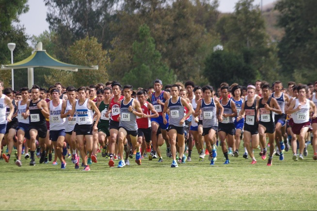 Falcons take sixth place at SoCal Preview Meet