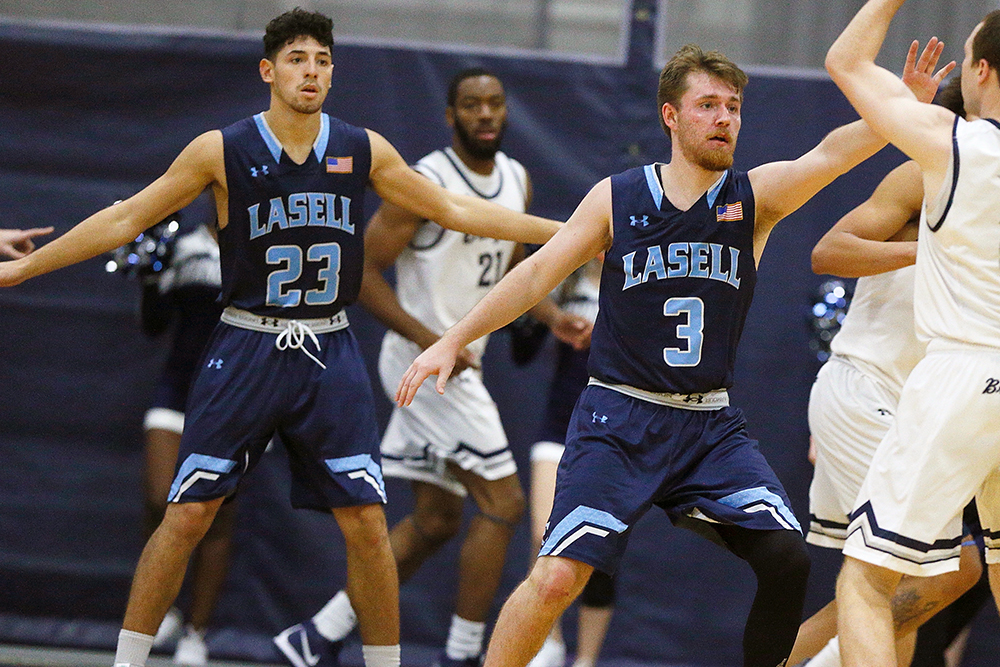 Lasell Men's Basketball defeated by Wheaton