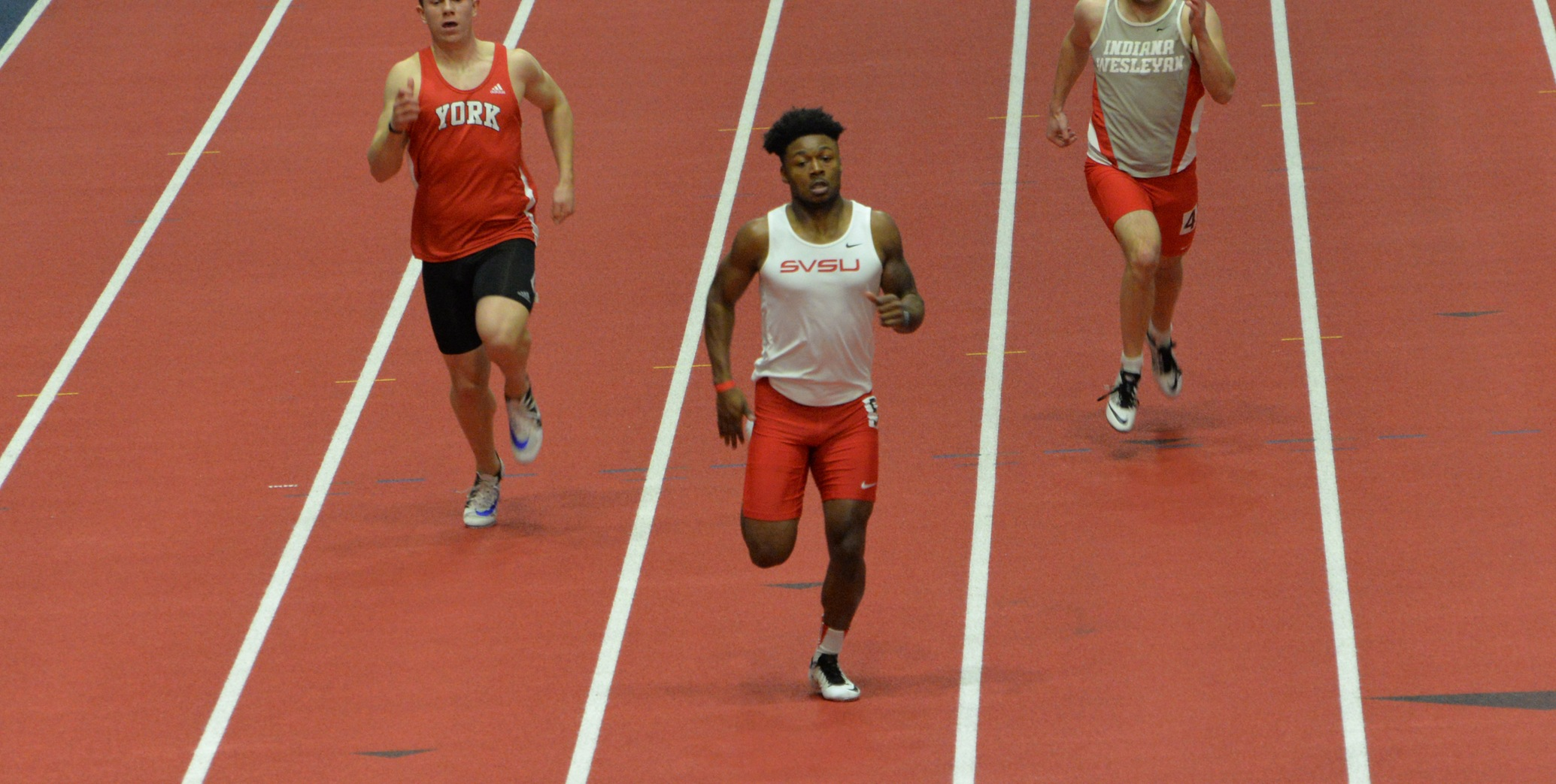 SVSU Track & Field Hosts Day One of Jet's Pizza Invitational