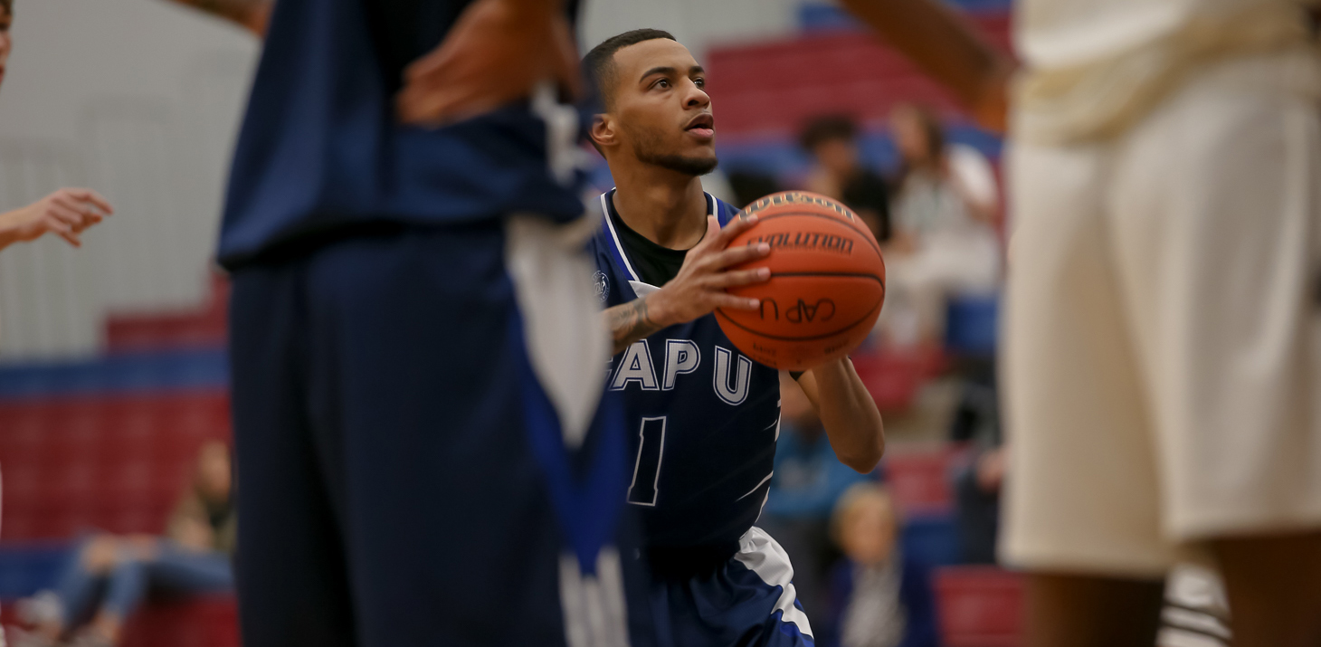 CapU Fourth-year guard Brenden Bailey. Photo Paul Yates / Vancouver Sports Pictures