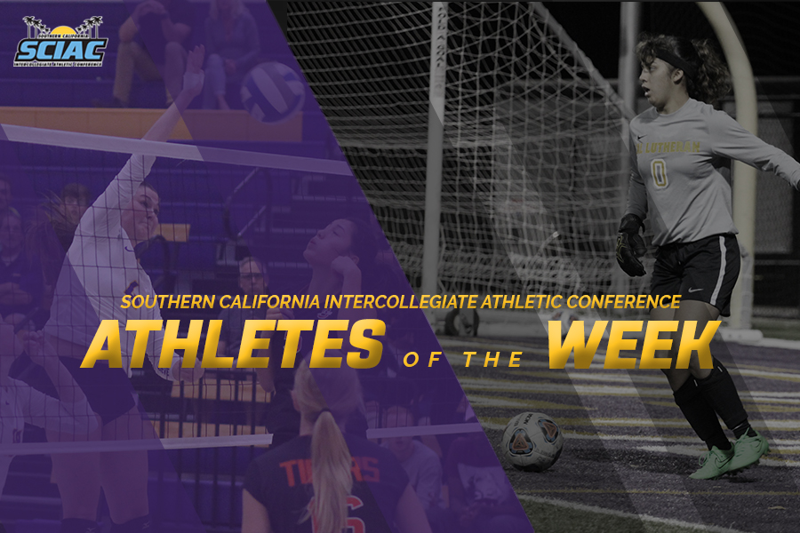 Flores, Roberts Named SCIAC Athletes of the Week