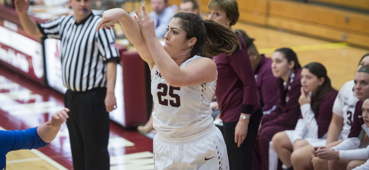 Women's Basketball Downs Emerson, 74-61, Improves to 7-0 in NEWMAC Play
