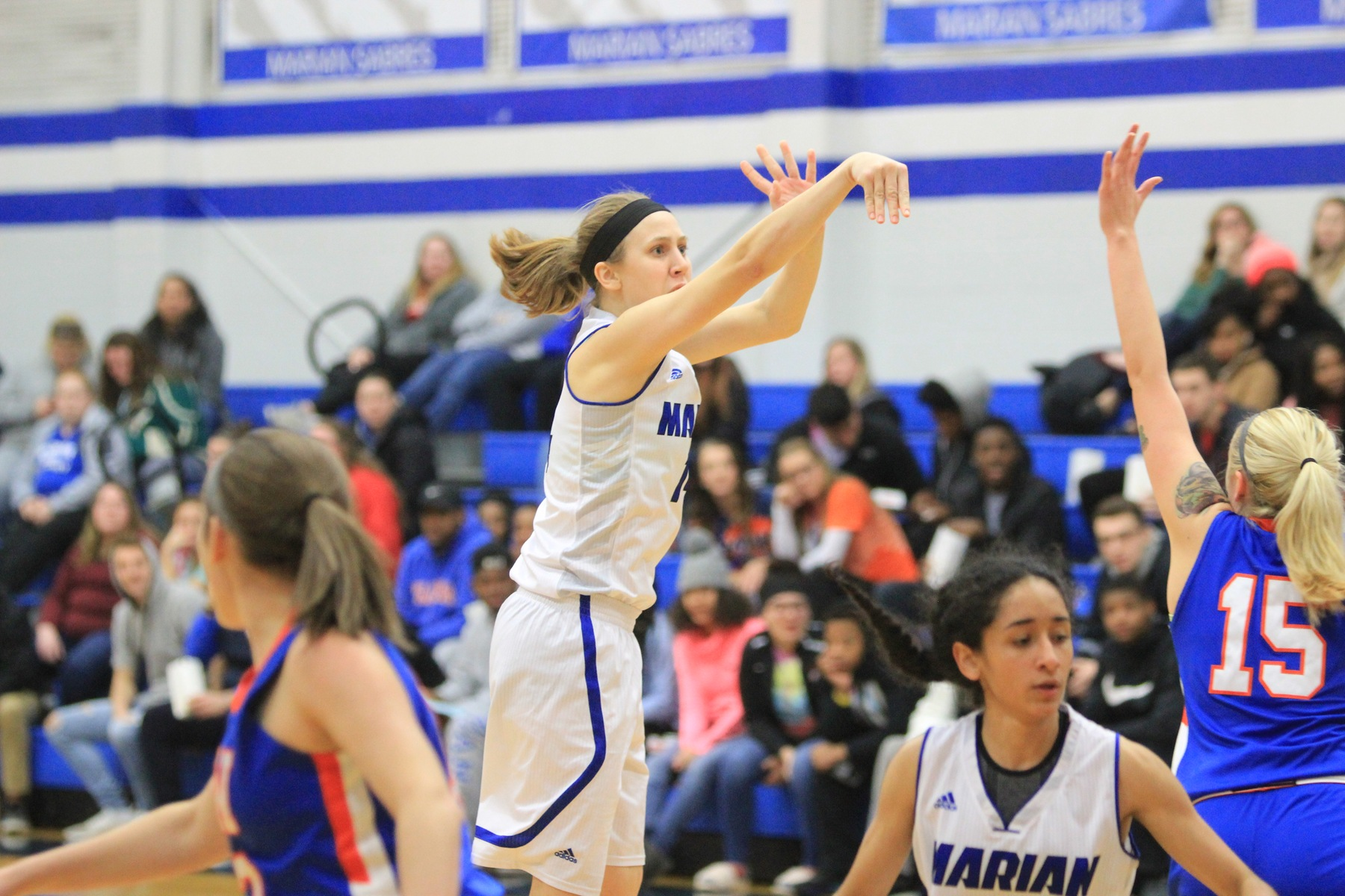 Tough third quarter sinks Marian women's basketball at Edgewood