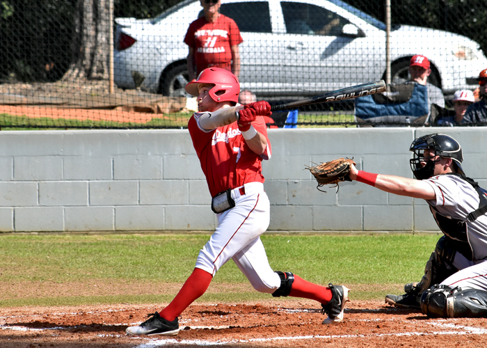 Bradley Harris was 3-for-4 with a run in Sunday's loss to LaGrange.