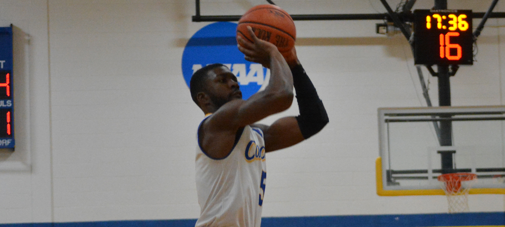Men's Basketball Edged By Assumption, 82-65