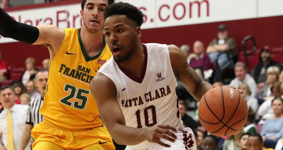 Second-Half Rally Falls Short for Men's Basketball, San Francisco Prevails, 70-59