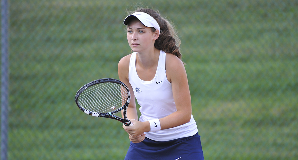 Tennis Duo Competes at ITA Northeast Regionals