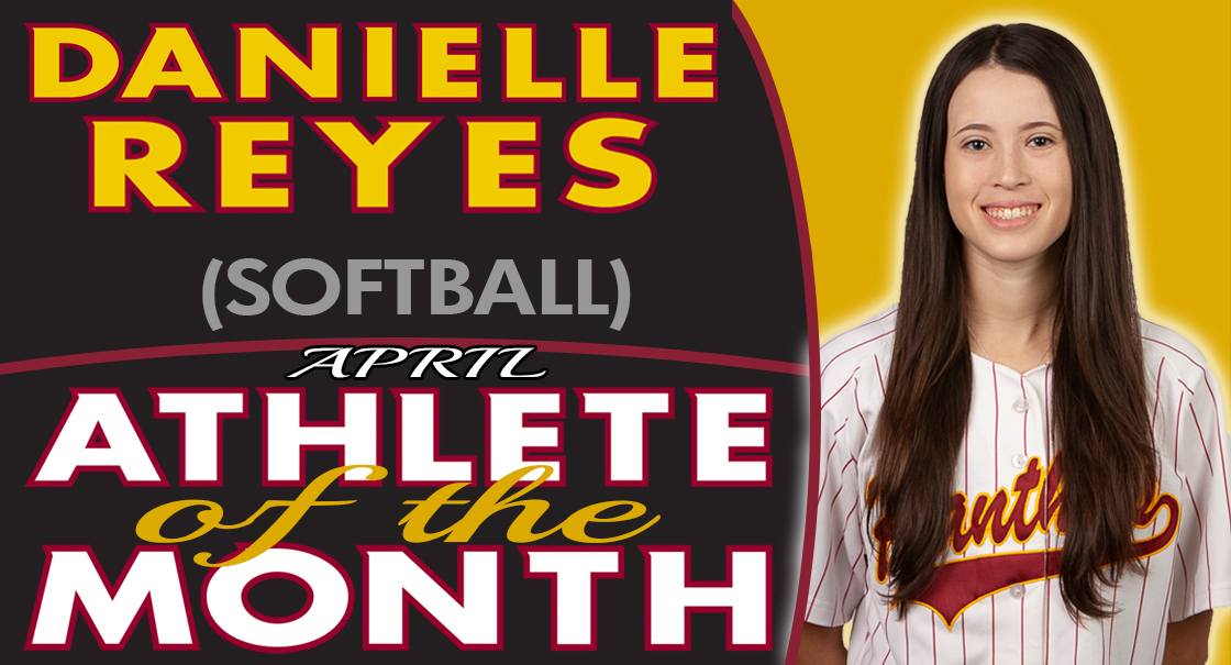 Danielle Reyes named the SCC April Female Athlete of the Month