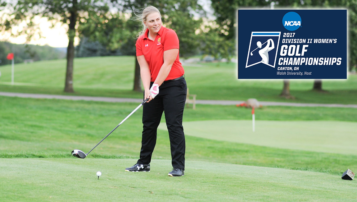 Ferris State's Destiny Lawson Tied For 7th After Round One At NCAA East Super Regional Championships