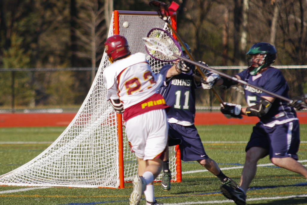 CAMPBELL NETS TWO IN LOSS TO BABSON 19-2