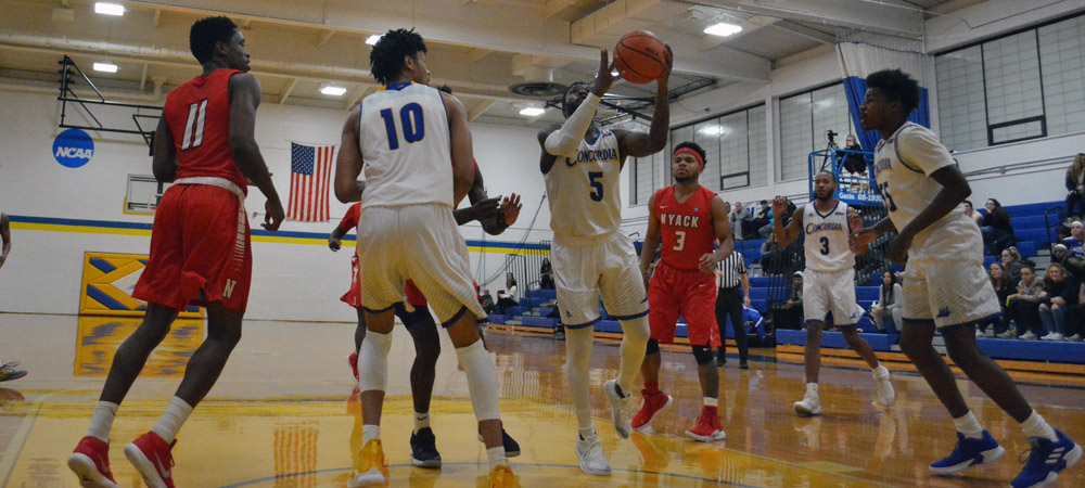 Strong Start Leads Men's Basketball To Historic 82-46 Victory Over Nyack