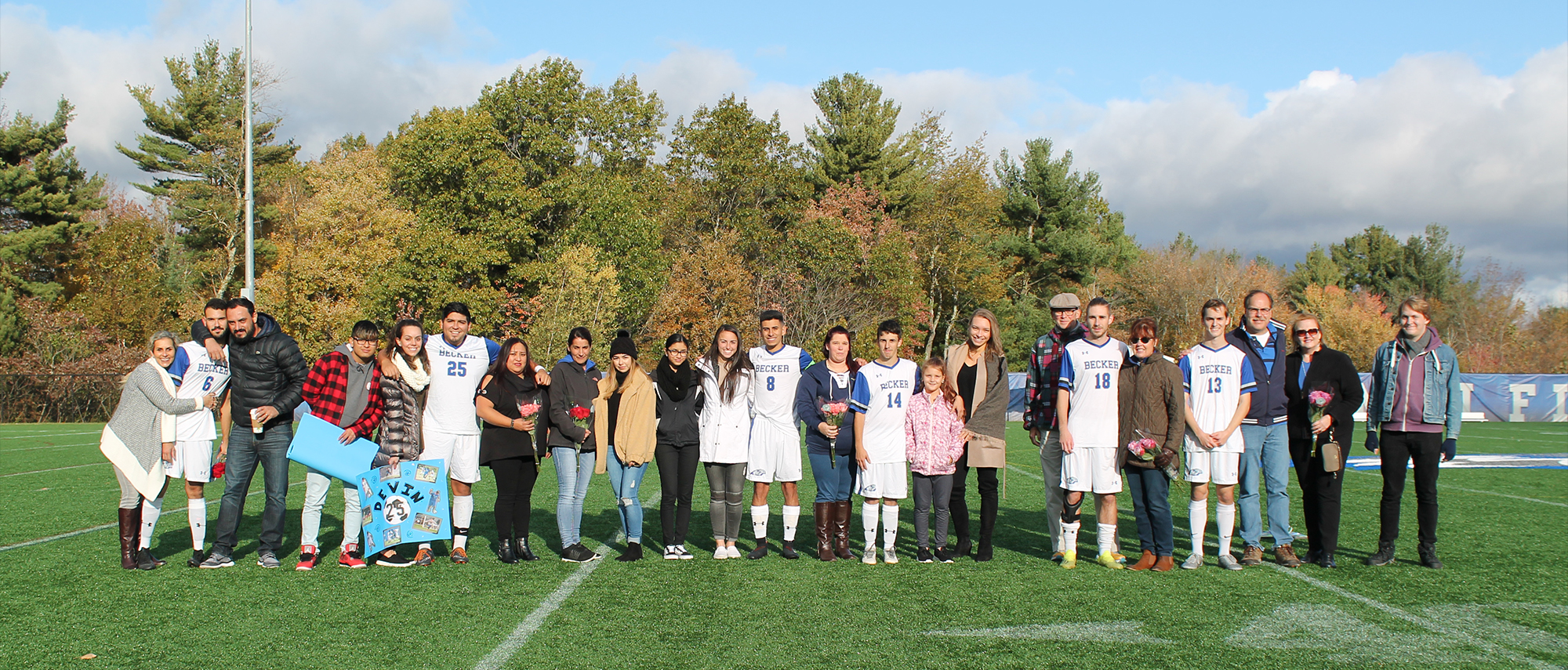 Men's Soccer Senior Day 2018