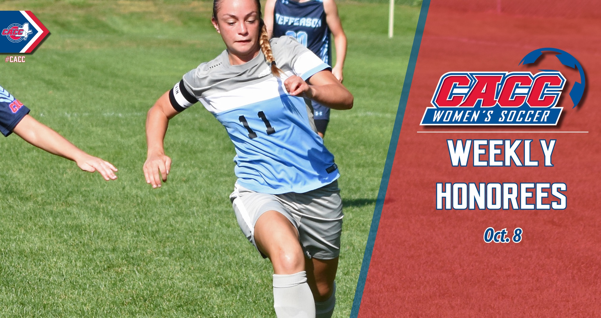 CACC Women's Soccer Weekly Honorees (Oct. 8)