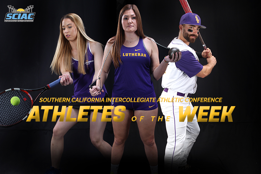 Barnes, Kurdys and White Named SCIAC Athletes of the Week