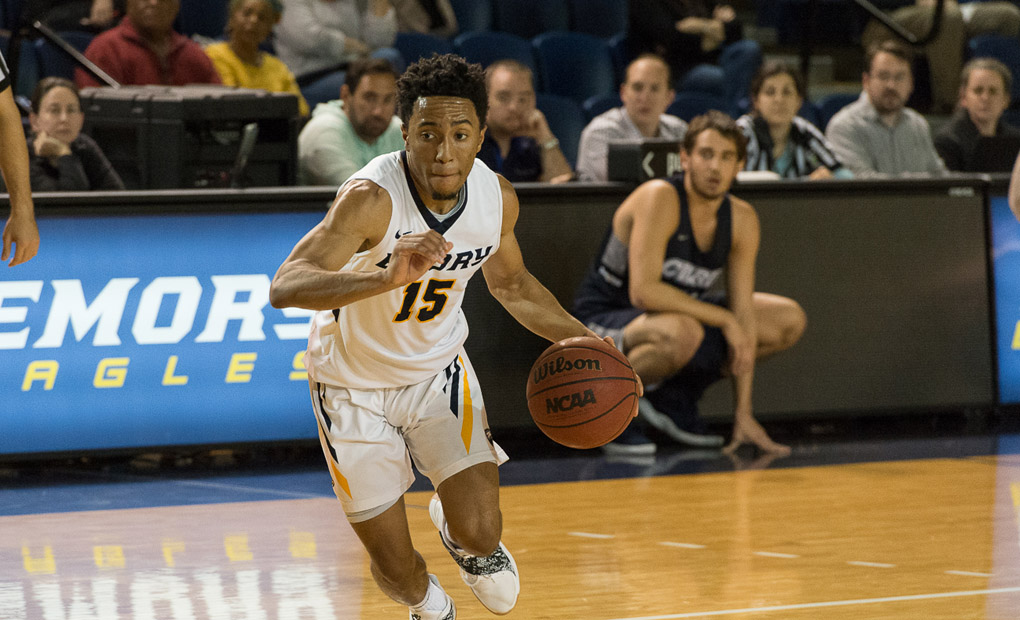 Emory Men's Basketball Races By Wash U - Moves Into Sole Possession Of First Place In UAA