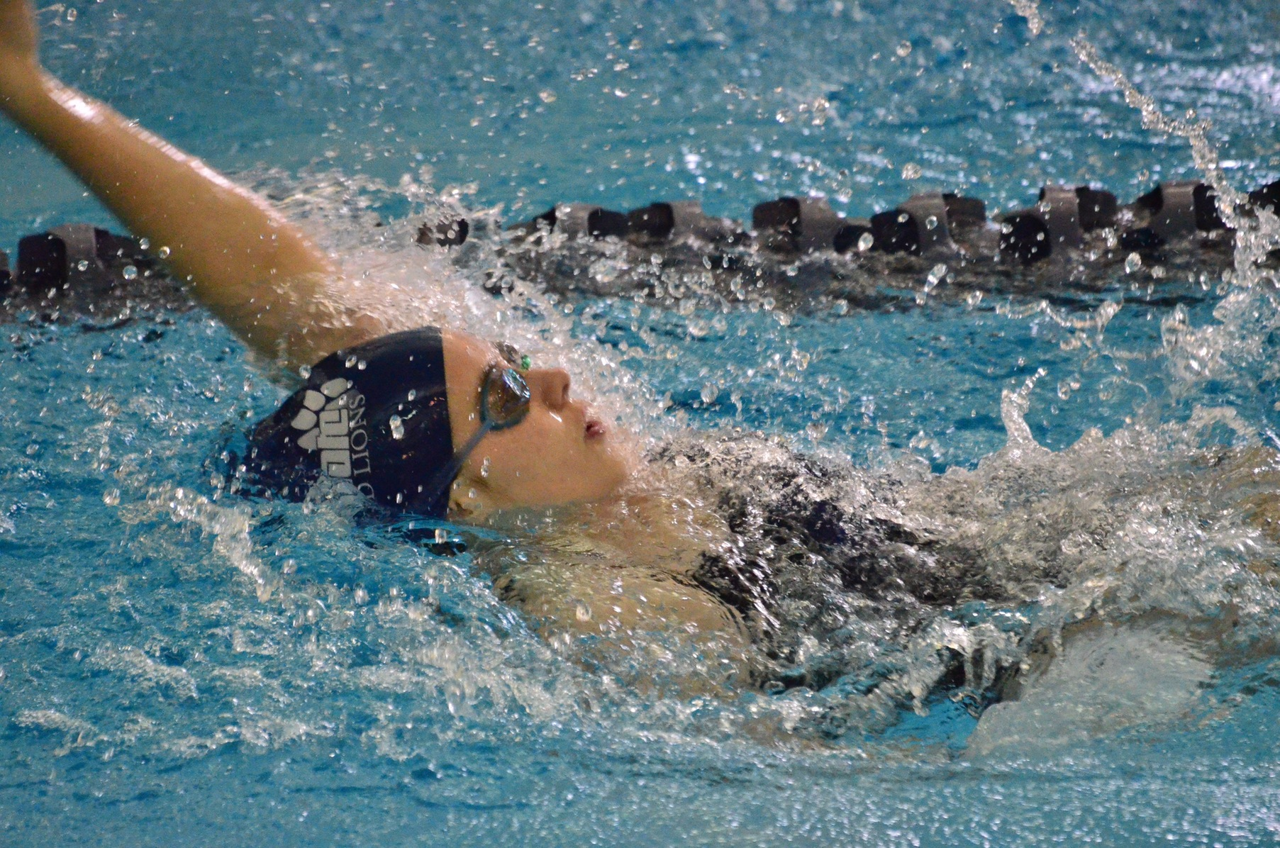 Women's Swimming and Diving Defeats Pitt-Bradford