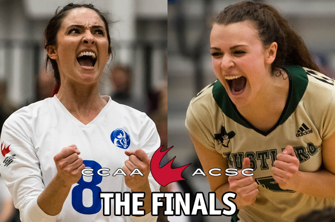 CCAA Women's Volleyball: The Finals