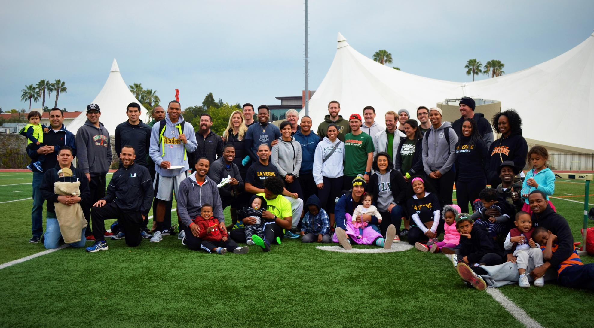 Track & Field hosts annual Alumni/Intrasquad Meet