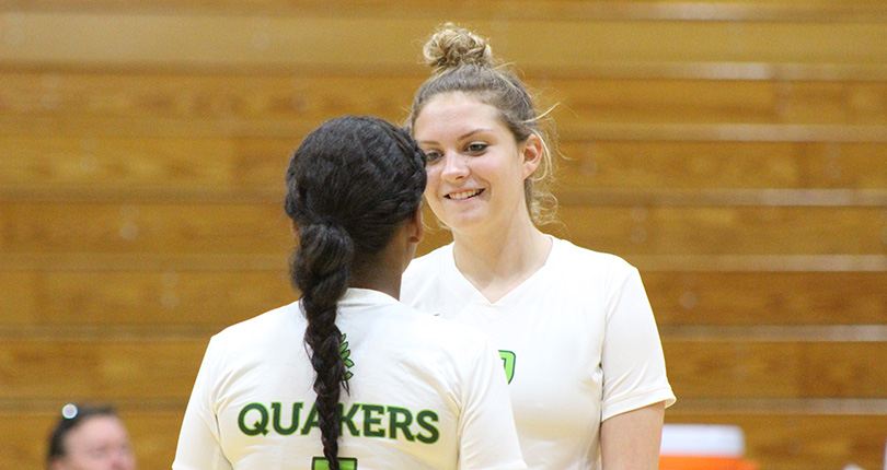 Volleyball Drops Two at Mount St. Joseph