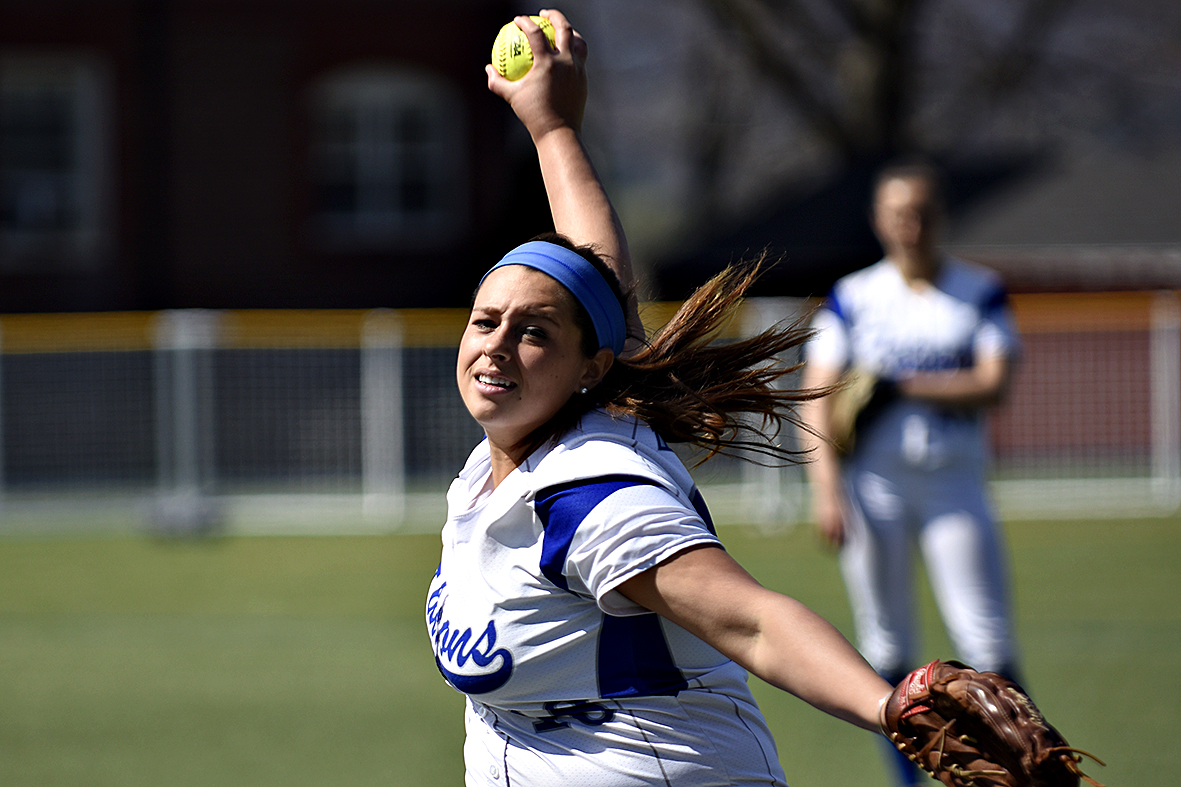Ferraro Throws Shutout as Falcons Defeat Saint Joseph's (Me.) in GNAC Tournament