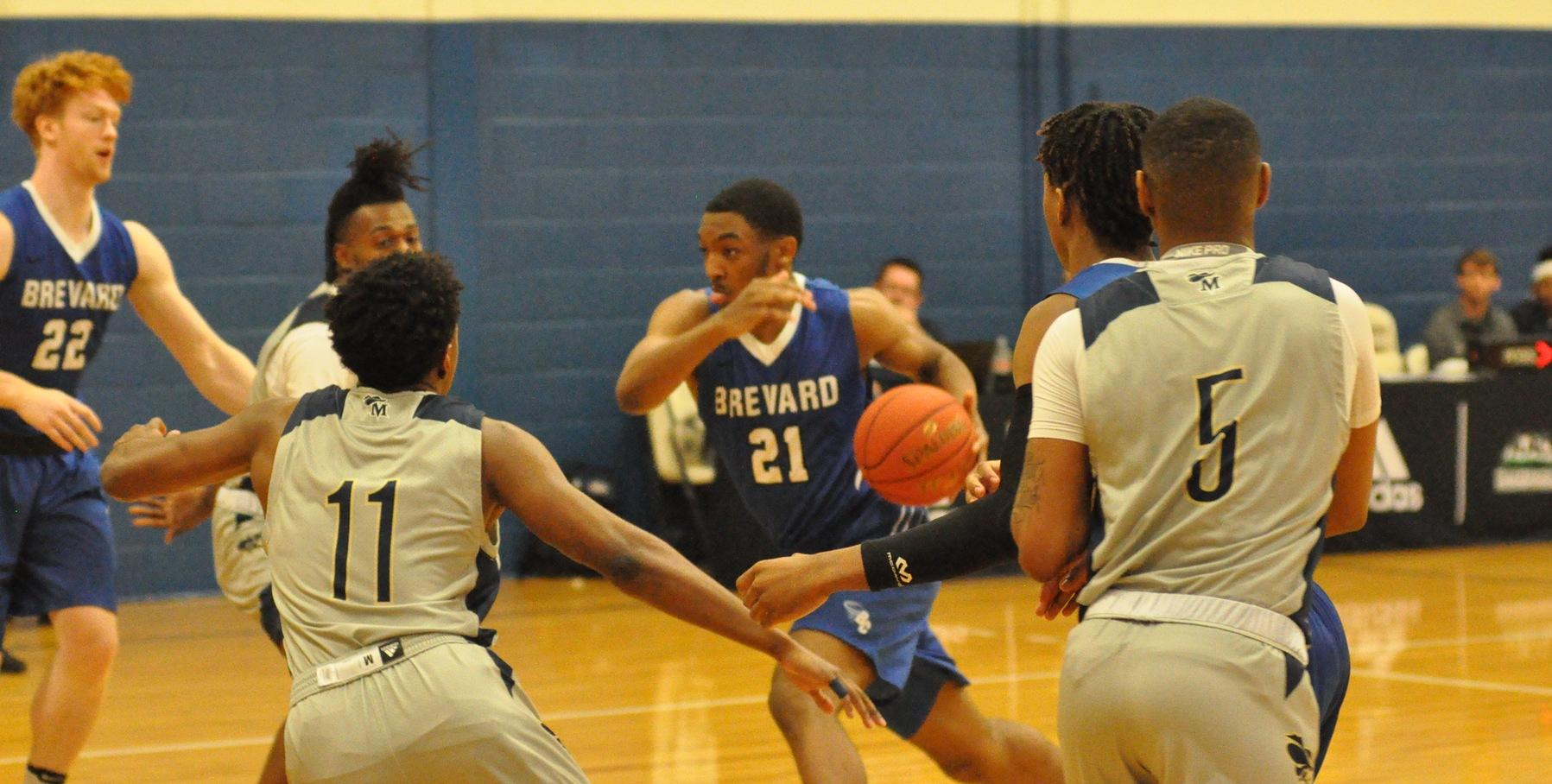 Brevard Falls in Road Action at Covenant