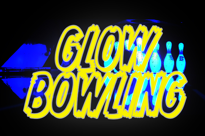 Glow Bowling Night at Eastland Bowl