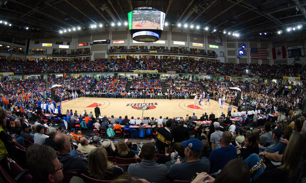 BOISE'S CENTURYLINK ARENA TO HOST BIG SKY BASKETBALL TOURNAMENT FROM 2019-22