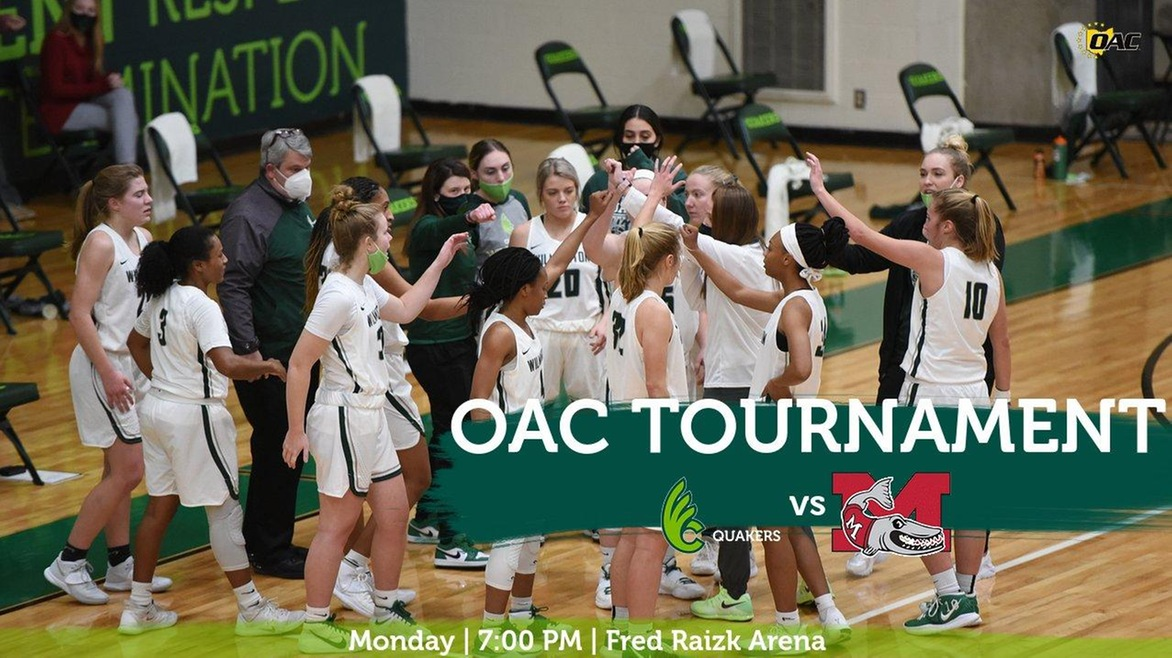 Women's Basketball Opens OAC Tournament With Muskingum on Monday