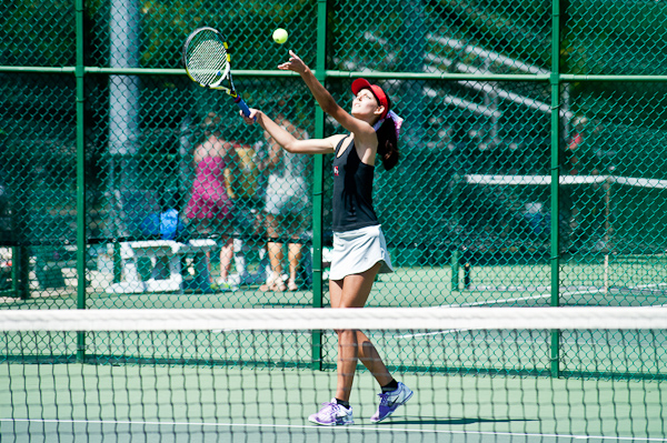 Huntingdon women's tennis picks up second conference win